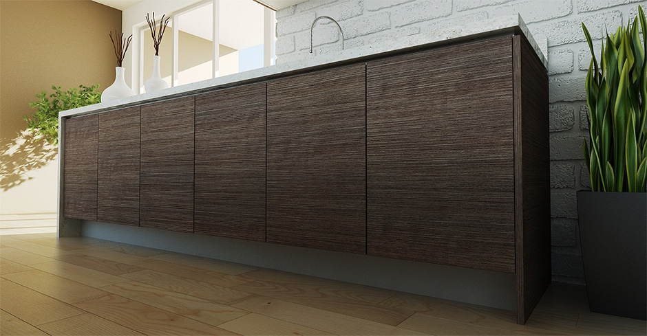 Textured FORMICA doors (HPL) & Textured FORMICA Doors (HPL) - Tech Kuchen